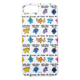 Mr Men & Little Miss | Character Names iPhone 8/7 Case