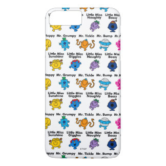 Mr Men & Little Miss | Character Names iPhone 8 Plus/7 Plus Case