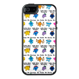 Mr Men & Little Miss | Character Names OtterBox iPhone 5/5s/SE Case