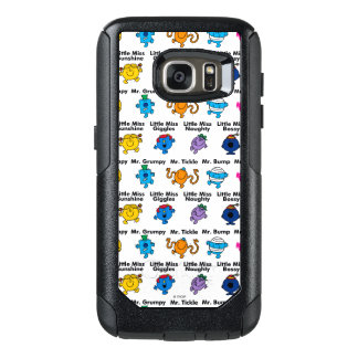 Mr Men & Little Miss | Character Names OtterBox Samsung Galaxy S7 Case