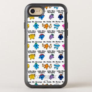 Mr Men & Little Miss   Character Names OtterBox Symmetry iPhone 7 Case