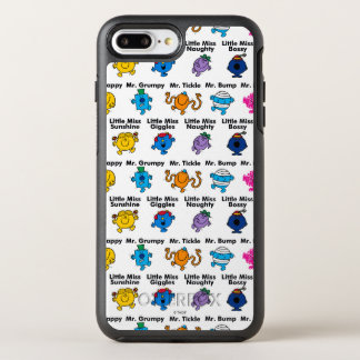 Mr Men & Little Miss | Character Names OtterBox Symmetry iPhone 8 Plus/7 Plus Case