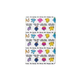 Mr Men & Little Miss | Character Names Pocket Moleskine Notebook