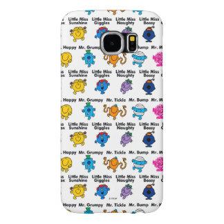 Mr Men & Little Miss | Character Names Samsung Galaxy S6 Case