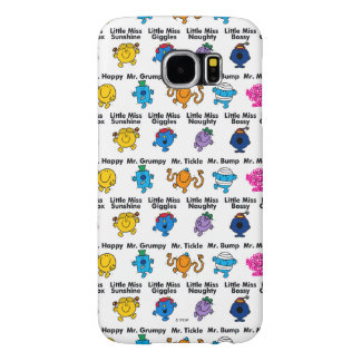 Mr Men & Little Miss | Character Names Samsung Galaxy S6 Cases