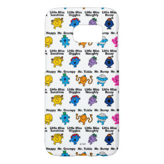 Mr Men & Little Miss | Character Names Samsung Galaxy S7 Case