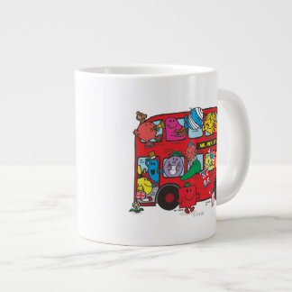 Mr. Men & Little Miss Crowded Bus Large Coffee Mug