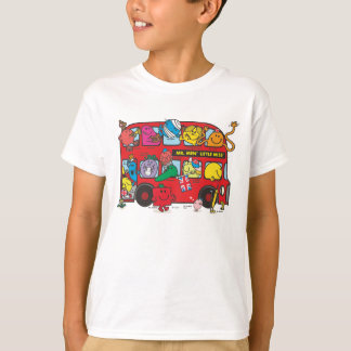 Mr. Men & Little Miss Crowded Bus Tee Shirt