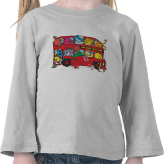 Mr. Men & Little Miss Crowded Bus Shirts