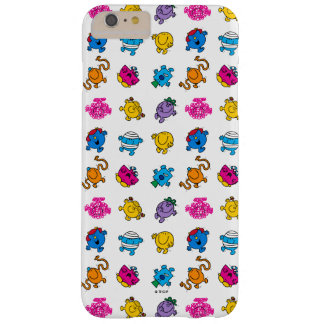 Mr Men & Little Miss | Dancing Neon Pattern Barely There iPhone 6 Plus Case
