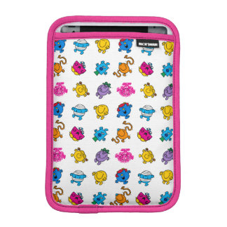Mr Men & Little Miss | Dancing Neon Pattern iPad Mini Sleeve