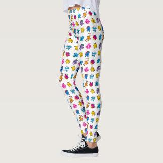 Mr Men & Little Miss | Dancing Neon Pattern Leggings