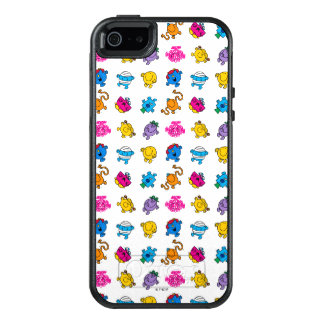 Mr Men & Little Miss | Dancing Neon Pattern OtterBox iPhone 5/5s/SE Case