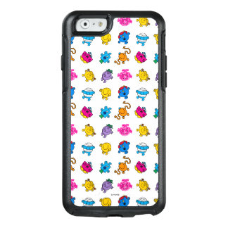 Mr Men & Little Miss | Dancing Neon Pattern OtterBox iPhone 6/6s Case