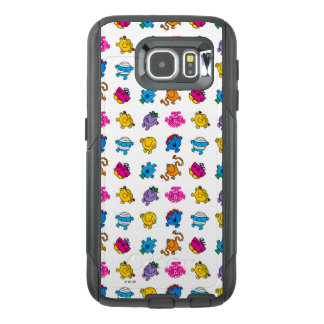 Mr Men & Little Miss | Dancing Neon Pattern OtterBox Samsung Galaxy S6 Case