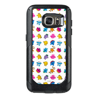 Mr Men & Little Miss | Dancing Neon Pattern OtterBox Samsung Galaxy S7 Case