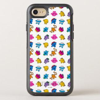 Mr Men & Little Miss   Dancing Neon Pattern OtterBox Symmetry iPhone 7 Case