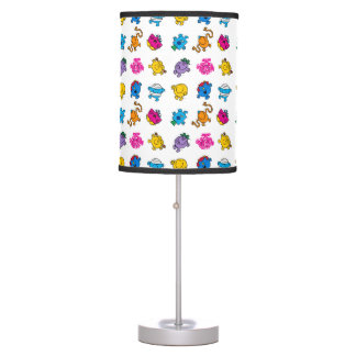 Mr Men & Little Miss | Dancing Neon Pattern Table Lamp