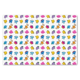 Mr Men & Little Miss | Dancing Neon Pattern Tissue Paper