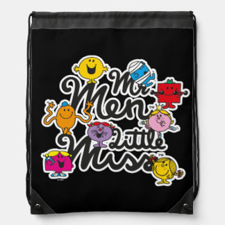 Mr. Men Little Miss | Group Logo Drawstring Bag