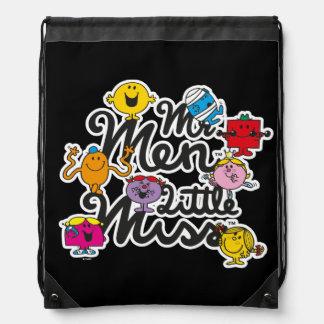 Mr. Men Little Miss | Group Logo Drawstring Bag