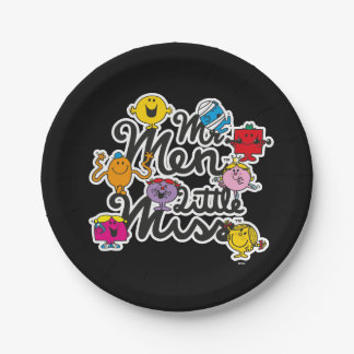 Mr. Men Little Miss | Group Logo Paper Plate