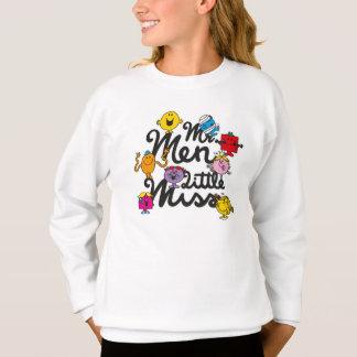 Mr. Men Little Miss   Group Logo Sweatshirt