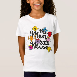 Mr. Men Little Miss | Group Logo T-Shirt