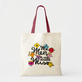 Mr. Men Little Miss | Group Logo Tote Bag