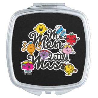 Mr. Men Little Miss | Group Logo Vanity Mirror