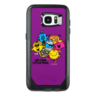 Mr. Men Little Miss Group OtterBox Samsung Galaxy S7 Edge Case