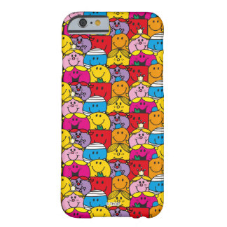 Mr Men & Little Miss | In A Crowd Pattern Barely There iPhone 6 Case