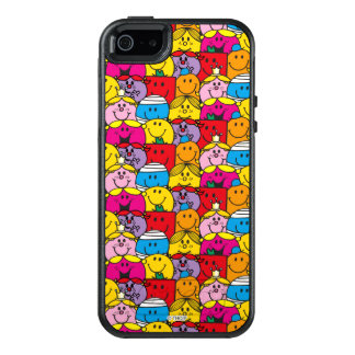 Mr Men & Little Miss | In A Crowd Pattern OtterBox iPhone 5/5s/SE Case