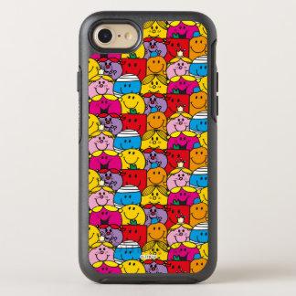 Mr Men & Little Miss   In A Crowd Pattern OtterBox Symmetry iPhone 7 Case