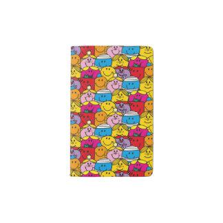 Mr Men & Little Miss   In A Crowd Pattern Pocket Moleskine Notebook