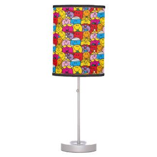 Mr Men & Little Miss | In A Crowd Pattern Table Lamp