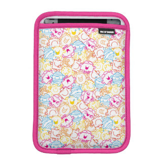 Mr Men & Little Miss | Neon Colors Pattern iPad Mini Sleeve