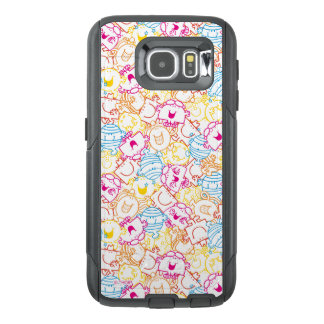 Mr Men & Little Miss | Neon Colors Pattern OtterBox Samsung Galaxy S6 Case