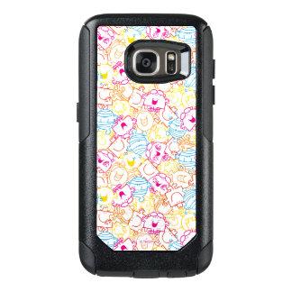 Mr Men & Little Miss | Neon Colors Pattern OtterBox Samsung Galaxy S7 Case