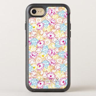 Mr Men & Little Miss   Neon Colors Pattern OtterBox Symmetry iPhone 8/7 Case