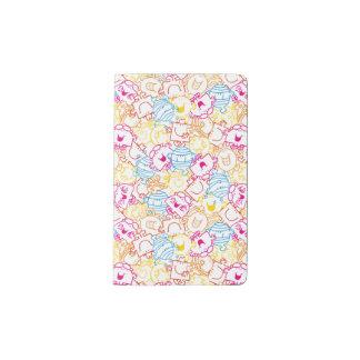 Mr Men & Little Miss | Neon Colors Pattern Pocket Moleskine Notebook