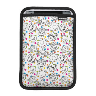 Mr Men & Little Miss | Rainbow Polka Dots Pattern iPad Mini Sleeve