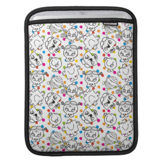 Mr Men & Little Miss | Rainbow Polka Dots Pattern iPad Sleeve