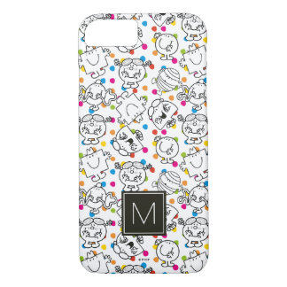 Mr Men & Little Miss | Rainbow Polka Dots Pattern iPhone 8/7 Case
