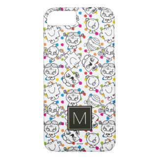 Mr Men & Little Miss   Rainbow Polka Dots Pattern iPhone 8/7 Case