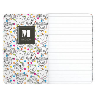 Mr Men & Little Miss | Rainbow Polka Dots Pattern Journal