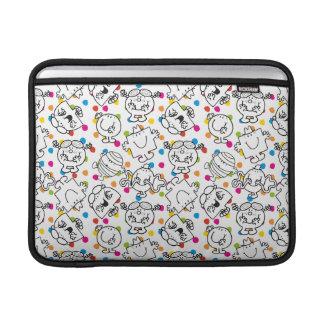Mr Men & Little Miss | Rainbow Polka Dots Pattern MacBook Sleeve