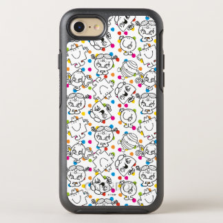 Mr Men & Little Miss   Rainbow Polka Dots Pattern OtterBox Symmetry iPhone 7 Case