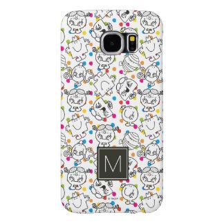Mr Men & Little Miss | Rainbow Polka Dots Pattern Samsung Galaxy S6 Case