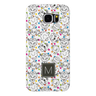 Mr Men & Little Miss | Rainbow Polka Dots Pattern Samsung Galaxy S6 Cases
